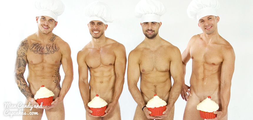 Man Candy & Cupcakes - Sexy Bakers