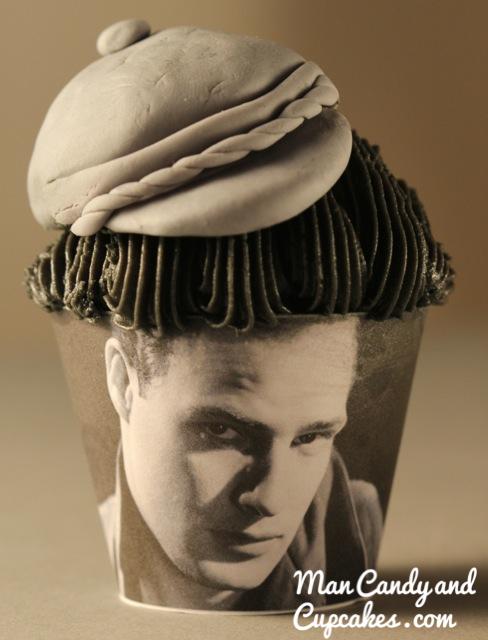 Marlon Brando Cupcake