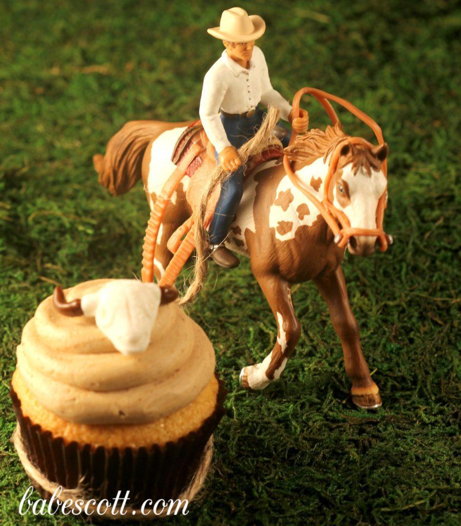 Hazelnut cupcake