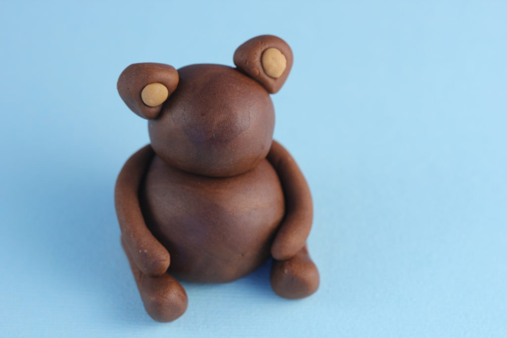 Fondant Teddy Bear Step 3